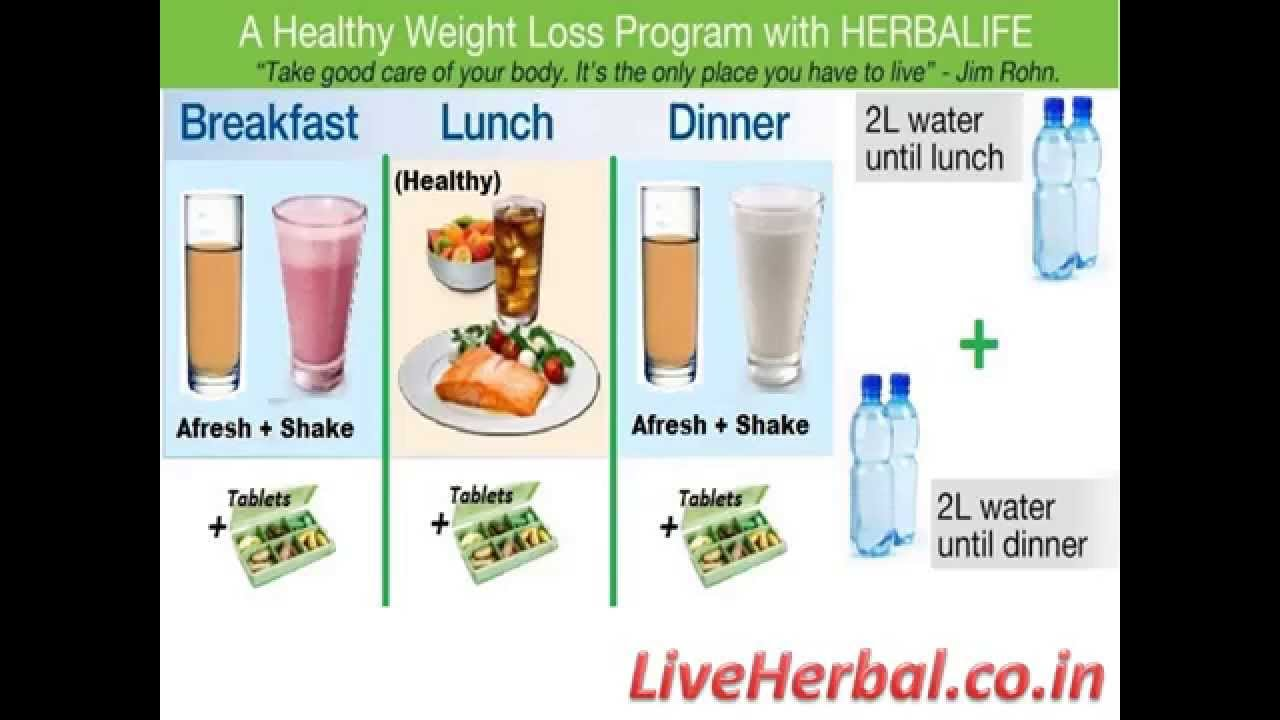 Herbalife Weight Loss Program Explained Youtube