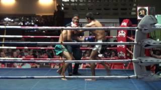 Isa (Tiger Muay Thai) vs Jaratpet (Chang Muay Thai) 26/12/16