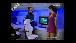 Türkün Uzayla İmtihanı - Tuğba Sarıünal Frikik (Turkish TV Upskirt)