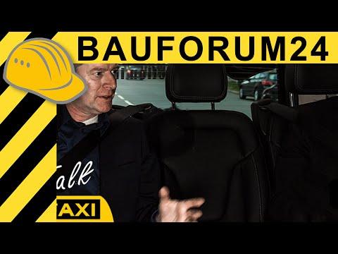 Baumaschinen Branche hinter den Kulissen - Ulf Böge (HKL) Interview Bauforum24 Talk Taxi bauma 2016