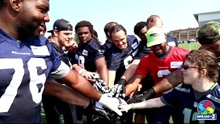 Dream On 3 - Chase Thomas meets JR Sweezy and the Seattle Seahawks