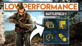 Battlefield 1 Performance PROBLEMS ► Mini Rant/Discussion