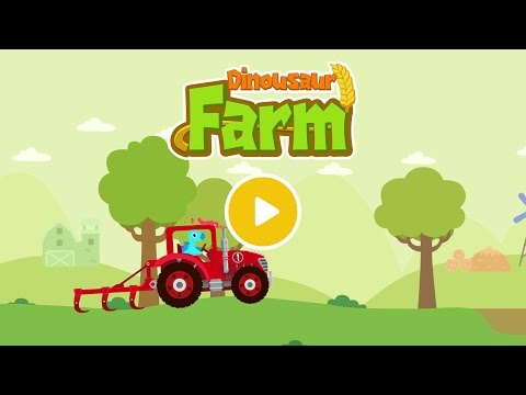 Dinosaur Farm Tractor Simulator Games For Kids Apps On Google Play