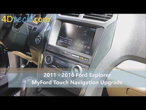 Add Factory Navigation to MyFord Touch | 2011-2016 Ford