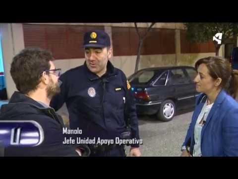 Patrulla nocturna de la Policía Local de Zaragoza