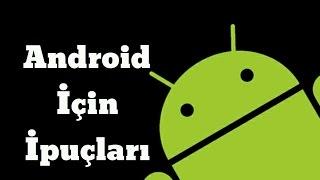 Ana Ekrana Klasör Kısayolu Ekleme Android İçin İpuçları #4