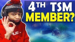 4TH TSM MEMBER? | TOURNAMENT GAME | HIGH KILL FUNNY GAME - (Fortnite Battle Royale)