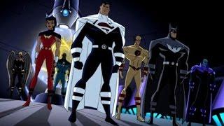 Justice League vs Justice Lords Voller Kampf-Szene HD