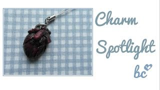Charm Spotlight: anatomical human heart inspired by puddingfishcakes