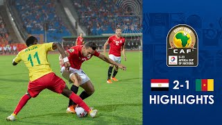 HIGHLIGHTS   #TotalAFCONU23   Round 3 - Group A: Egypt 2-1 Cameroon