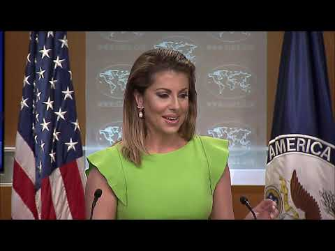 Department Press Briefing - August 21, 2019