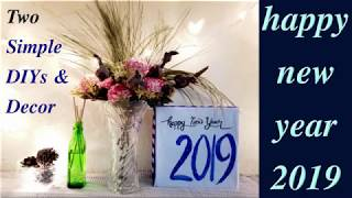 New Year Tablescape Challenge 2018 DIY & Decor