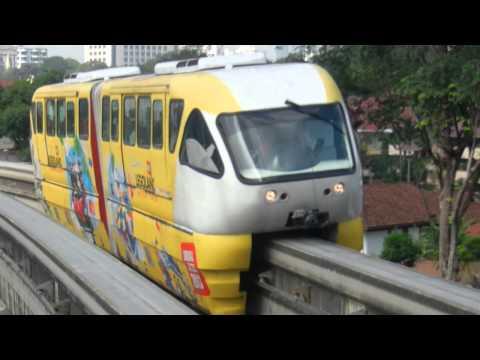 Metro train Kuala Lumpur, Malaysia