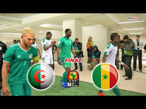 PES 2019 | Senegal vs Algeria | Africa Cup of Nations FINAL