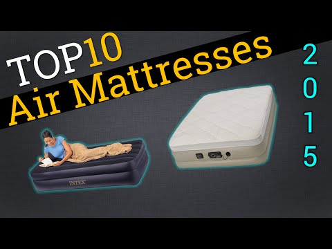 Top 10 Air Mattresses 2015 | Compare The Best Air Mattresses