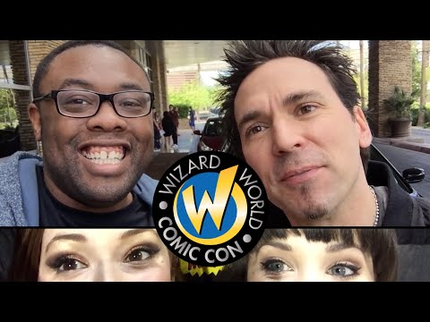 WIZARD WORLD VEGAS! Jason David Frank, Hillywood, Melonie Mac : Black Nerd