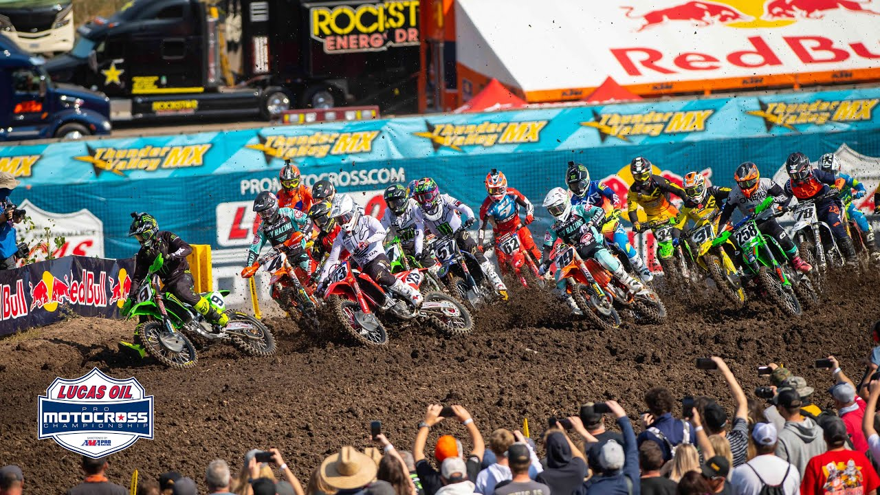 AMA Motocross Thunder Valley National Highlights!