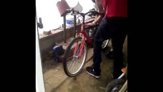 Velo avec moteur pocket bike competition