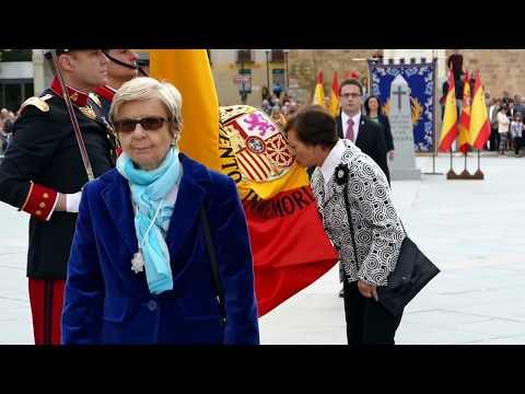 Jura de bandera civil en Ávila