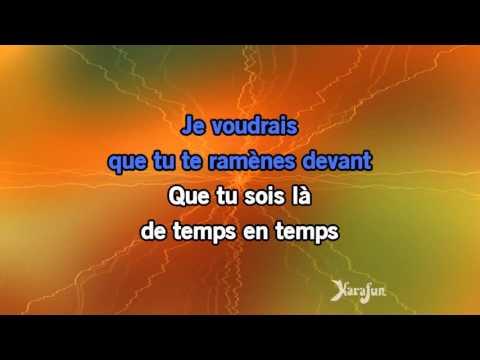 Karaoké J't'emmène au vent - Louise Attaque *