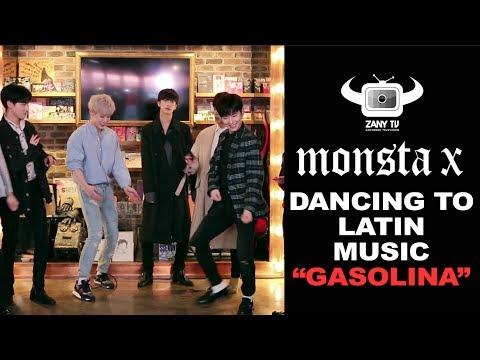 ÍDOLOS COREANOS MONSTA X BAILANDO GASOLINA / KOREAN IDOLS MONSTA X DANCING TO GASOLINA