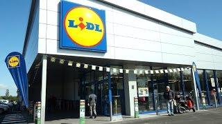 Inauguration du magasin LIDL de Tréguier (Côtes d'Armor)
