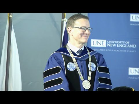 UNE holds inauguration of James Herbert as sixth president