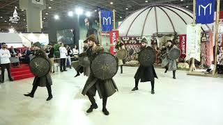 خيمة أرطغرل ورقصة خاصة لرجال قبيلة الكاية الشهيرة