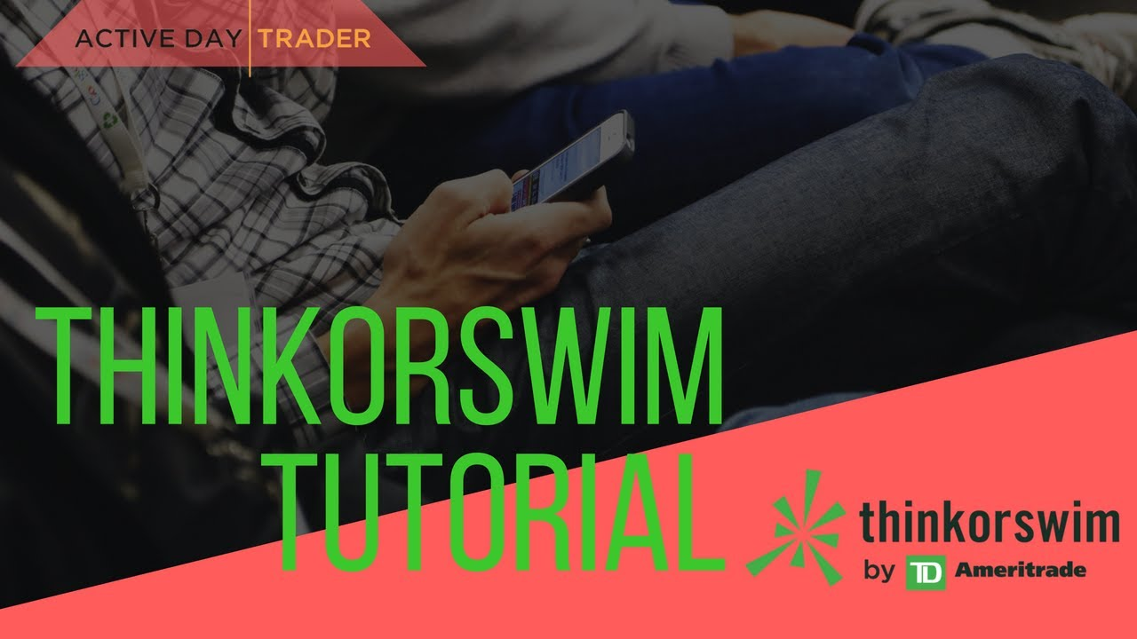 [FUTURES] ThinkorSwim Tutorial - Td Ameritrade, TOS, Futures Trading,  Interest Rate Futures