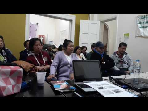 Athens KASAPI Hellas & iDEFEND Human RIghts Forum with Filipino Migrants PART1