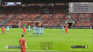 FIFA 15 FULL DEMO GAMEPLAY #1 - Liverpool VS Man City - FIFA 15 Gameplay Next Gen - Gamescom 2014