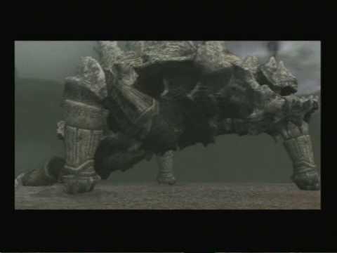 Shadow of the Colossus - Ninth Colossus: Basaran