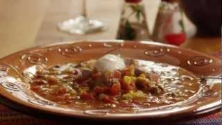 How to Make Slow Cooker Taco Soup