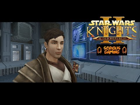 Star Wars Knights of the Old Republic II: Sith Lords - Let's Play Part 2: Peragus Mining Facility