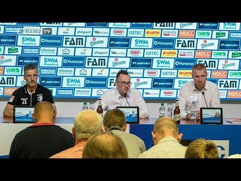 9. Spieltag | FCM - SGD | Pressekonferenz nach dem Spiel