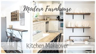 Kitchen Makeover | Modern Farmhouse Style