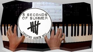 Youngblood - 5SOS (Piano Tutorial / Chords / How to play)