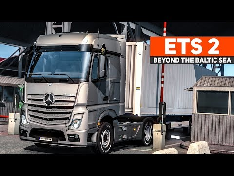ETS 2: Beyond the Baltic Sea #2: Im ACTROS nach Sankt Petersburg | EURO TRUCK SIMULATOR 2