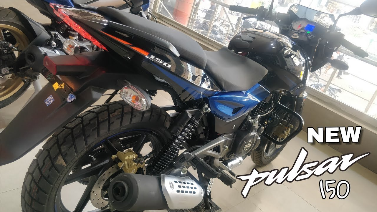 2018 New Bajaj Pulsar 150 UG5 Twin Disc || Review || Price || All new  features