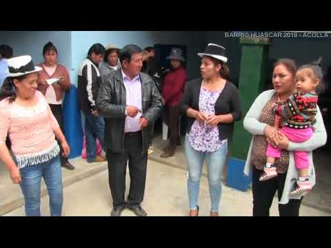 CLUB SPORT SOCIAL HUASCAR 2018 ACOLLA 26 DE JUNIO  ORQ HERMANOS FABIAN