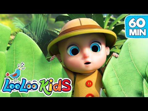 LooLoo – Down In The Jungle, Peek a Boo, Zigaloo + More Nursery Rhymes | LooLoo KIDS – Cantece pentru copii in limba engleza