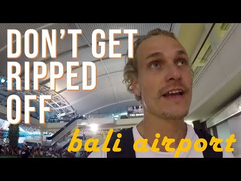 Flying into Denpasar Bali - What to do