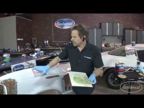 How To Use Body Filler - Mixing, Spreading, Sanding & Tips - Part 1 Of 3 - Kevin Tetz At Eastwood