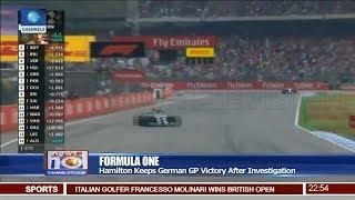Hamilton Keeps German GP Victory After Investigation Pt.4 22/07/18 | News@10 |