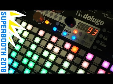 Deluge by Synthstrom Audible at #Superbooth2018