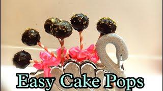 How to make cąke pops | Cake pops recipe | Homemade cake pops | Easy cake pops