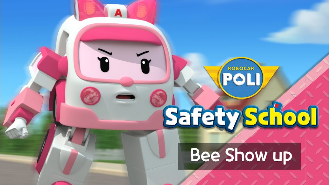 EP4. Bee Show Up | Daily Life Safety with Amber | Cartoon for Kids | Robocar POLI