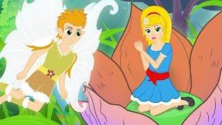 Дюймовочка сказка для детей, анимация и мультик