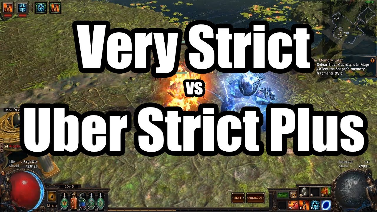 Very Strict vs Uber Strict Plus Loot Filters, Which one is better? Very  Strict    if ya slow