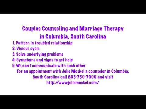 Couples Counseling and Marriage Therapy in Columbia, South Carolina